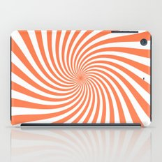 Swirl (Coral/White) iPad Case