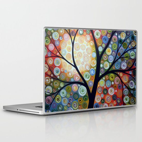 Waiting For the Moon Laptop & iPad Skin