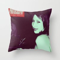 Glamour Photography Throw Pillow