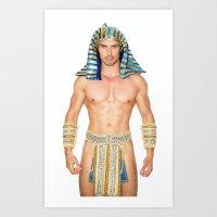 Sexy Pharao Art Print