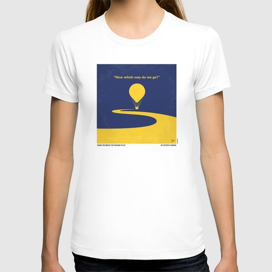 No177 My Wizard minimal movie poster OZ T-shirt