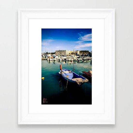 Trani Framed Art Print