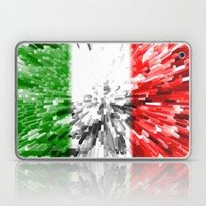 Italy Flag - Extrude Laptop & iPad Skin