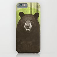 iPhone & iPod Case featuring Black Bear by Chase Kunz