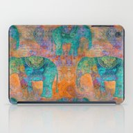 Elephant Pattern iPad Case