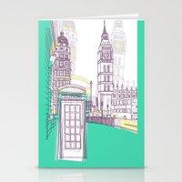 Lovely London Stationery Cards