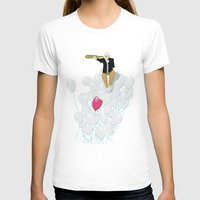 Balloon Womens Fitted Tee White SMALL