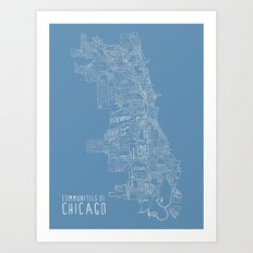 Communities of Chicago Art Print