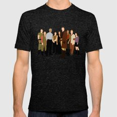 Firefly/serenity crew Mens Fitted Tee Tri-Black SMALL