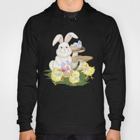 White Rabbit And Easter … Hoody