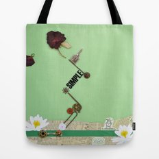the rose  spring Tote Bag