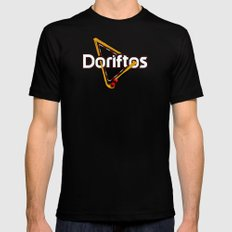 Doriftos Mens Fitted Tee SMALL Black