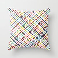 Weave 45 Zoom Throw Pillow