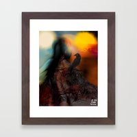 Digital Realms Framed Art Print