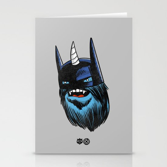 Yeticorn Comic Heroes series: the Batman!  Stationery Card