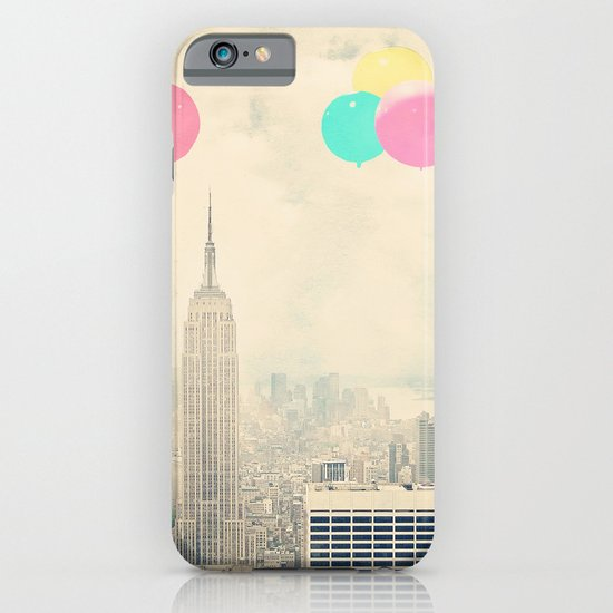 Balloons over the City iPhone & iPod Case