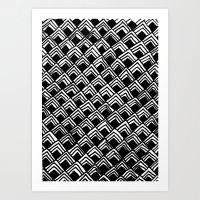 Hand-drawn Pattern Art Print