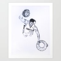 Blake Griffin Art Print