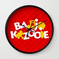 Banjo-Kazooie - Red Wall Clock