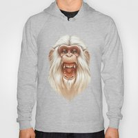 The White Angry Monkey Hoody