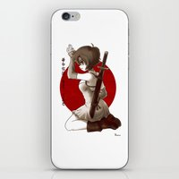 Swordsgirl iPhone & iPod Skin