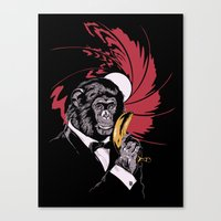 Weapon of Choice Canvas Print