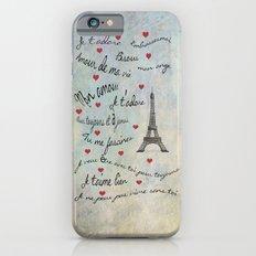 Paris Amour Valentines Design  iPhone 6 Slim Case