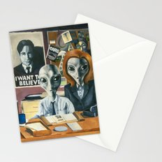 X-Files - Agent Grey Stationery Cards
