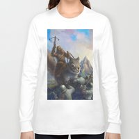 fur on fur Long Sleeve T-shirt
