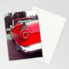 Nostalgic red Stationery Cards