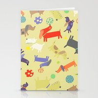 dogs Stationery Cards featuring Dogs by Amy Schimler-Safford