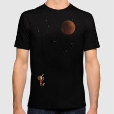 The Red Moon MEDIUM Black Mens Fitted Tee