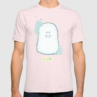 Let's Get Dirty Mens Fitted Tee Light Pink SMALL