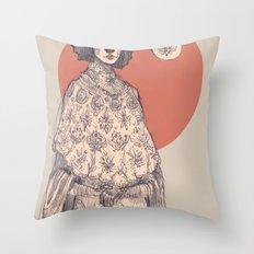 Time Roll Forward Throw Pillow