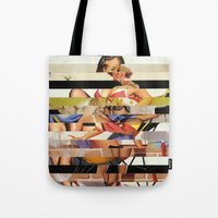 Glitch Pin-Up Redux: Gwe… Tote Bag