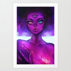 Garnet's Galaxy Art Print