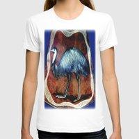T-shirt featuring Aboriginal Art - Emu by Chris' Landscape Images & Designs