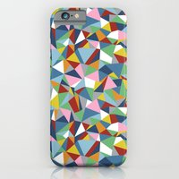 iPhone & iPod Case featuring Abstraction Repeat by Project M