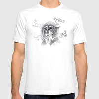 Four Complex Ideas Mens Fitted Tee White SMALL