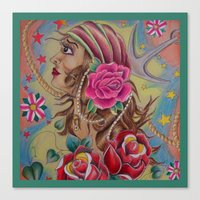 Pirate Wench Canvas Print
