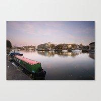 Bristol City Docks Canvas Print
