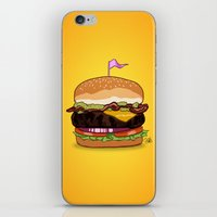 Bacon Cheeseburger iPhone & iPod Skin