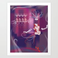 Showgirls Art Print