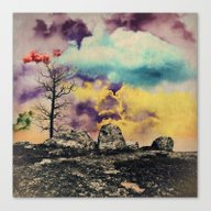 Colorful Clouds Canvas Print