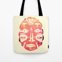 Cloud Face I Tote Bag
