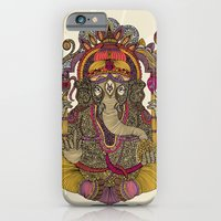 iPhone & iPod Case featuring Lord Ganesha by Valentina Harper