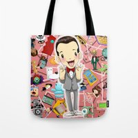 I KNOW YOU ARE, BUT WHAT AM I? Tote Bag