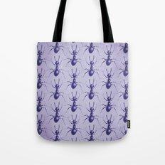 Purple Ant Tote Bag
