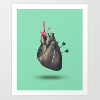 heart of sugar Art Print
