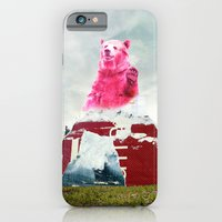 iPhone & iPod Case featuring Bear Salute by akamundo
